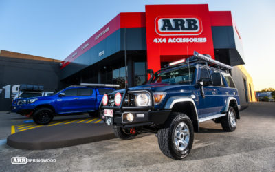 Feature 4wd: Toyota Landcruiser 76 Series Wagon – Nudge