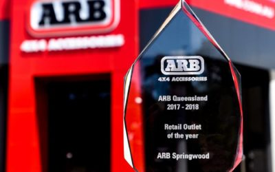 """ARB Springwood """"ARB Qld 2018 Retail Store of the Year"""""""