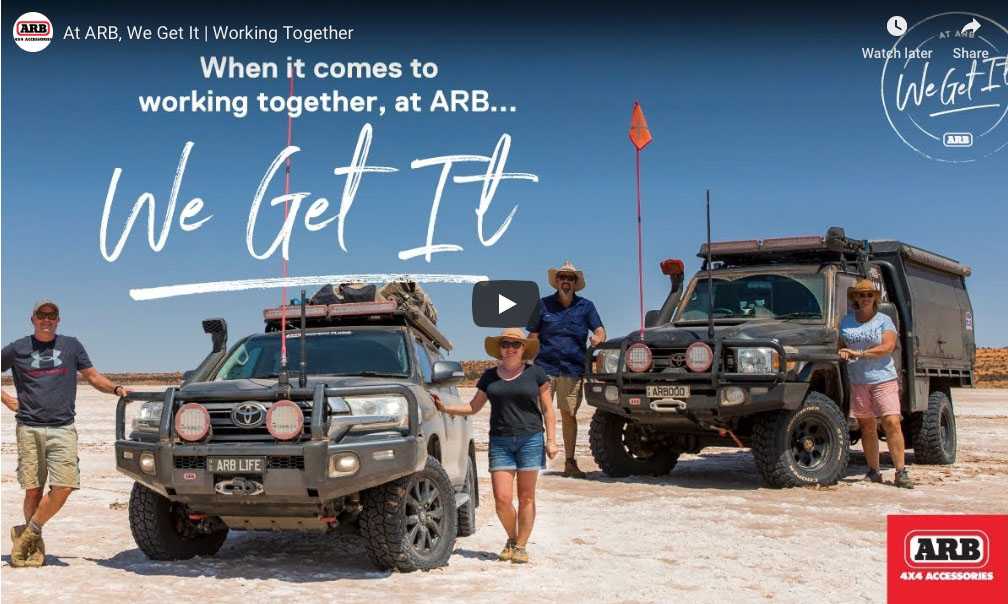 When It Comes to Working Together, at ARB 'We Get It'!