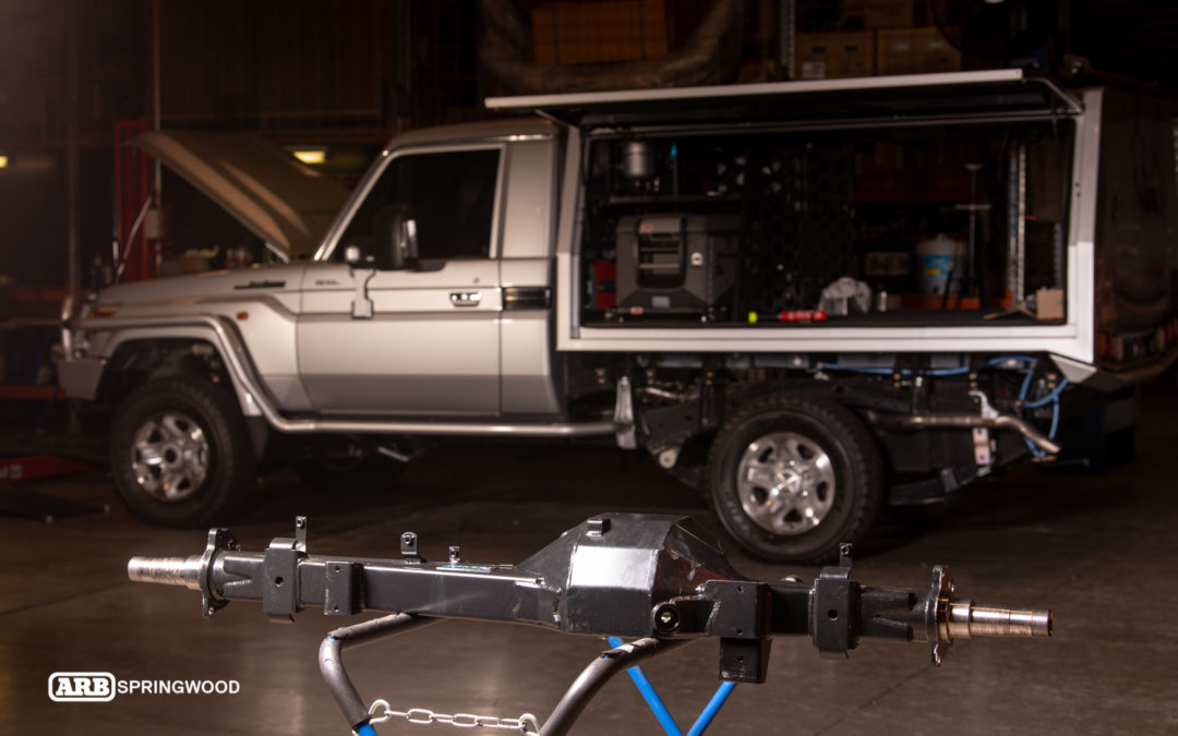 'Max' The 79 Series – Jmacx Heavy Duty Rear Axle Upgrade
